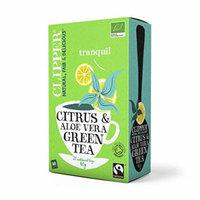 (2 Pack) - Clipper - Organic Green Tea Aloe Vera | 20 Bag | 2 PACK BUNDLE