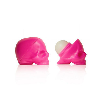 Rebels Refinery Capital Vices Skull Lip Balm Neon Pink Luxuria 5.5g (Passion Fruit)
