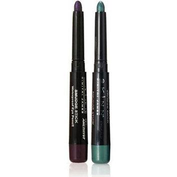 Skinn Cosmetics Smudge Stick for Eyes - Set of 2 Waterproof Eye Pencils - Deep Amethyst & Emerald