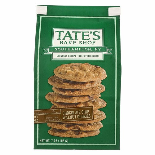 Tate's Bake Shop Chocolate Chip Walnut Cookies - Case of 12 - 7 oz.
