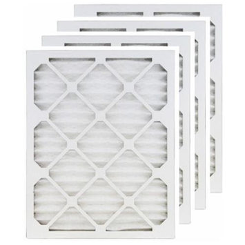 Filters-now 25x25x1 (24.5x24.5) MERV 13 Air Filter/Furnace Filters (4 pack)