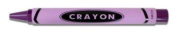 Acme Studios PACME3PURR Purple Crayon Retractable Roller Ball