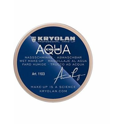 Kryolan AQUACOLOR 55 ML 1.9(FL OZ.) 1103 1W Wet Makeup and Body Paint