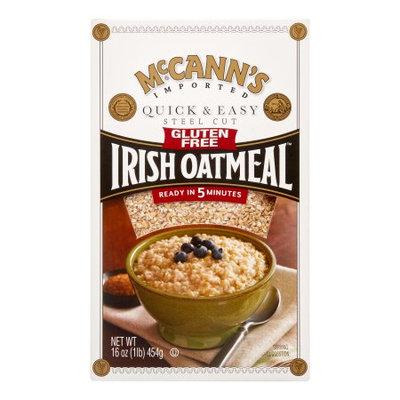 McCann's Gluten Free Irish Oatmeal, Quick & Easy, Steel Cut, 16 Oz