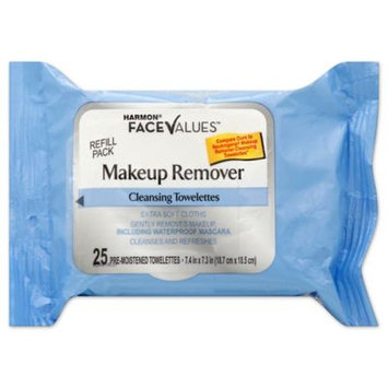 Harmon Face Values Makeup Remover Cleansing Towelettes