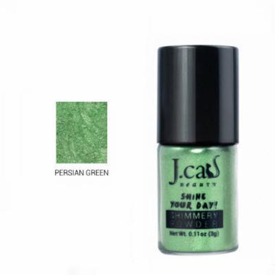 J. Cat Shimmery Powder 111 Persian Green