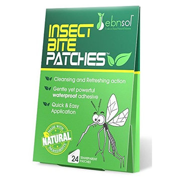 After Insect Bite Patches - Natural After Insect Sting Patches | Reduce Appearance of Redness & Itching | Protect Affected Area |100% Satisfaction Guarantee