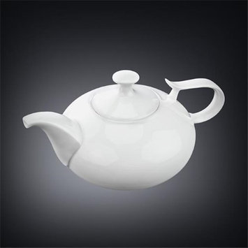 Wilmax 994000 1150 ml Tea Pot White - Pack of 18