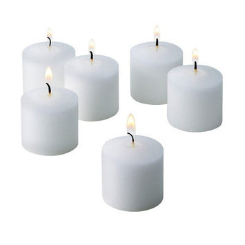 Light In The Dark Candles 10 Hour White Jasmine Scented Votive Candle (Set of 72) LITD-V1072-JASMIN