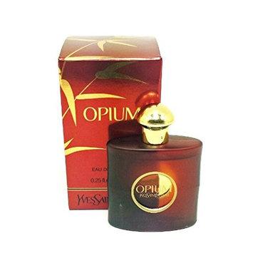 YSL Opium Mini for Women, New Opium Reformulation & Packaging, Eau De Toilette Splash-On Travel Size Miniature Fragrance .25oz