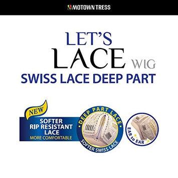 Motown Tress Deep Part Swiss Lace Front Wig – LSDP-Fara - F1B/30