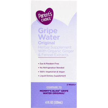 Supplier Generic Parent's Choice Gripe Water, 4 oz