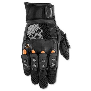 Black Brand Men's Men's Mirror Buster Leather Gloves