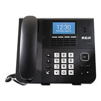 RCA IP070S VoIP Wireless Accessory Deskphone for IP170S Phone System