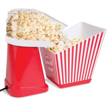 Handy Gourmet Jb7656 Pure Pop Popcorn Bowl, White and Red