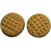 Exclusively Dog Cookies 35200 Classic Peanut Butter Cookies 20 Lb. Box