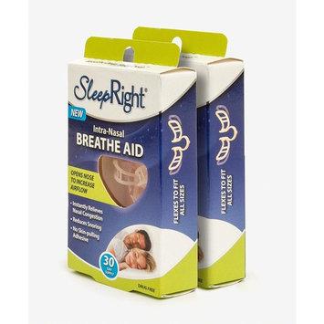 SleepRight Intra-Nasal Breathe Aids – Breathing Aids For Sleep – Nasal Dilator – 30 Day