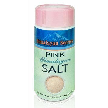Natural Pink Himalayan Cooking Salt - Kosher Certified Fine Grain Gourmet Salt in Mini 4 oz Shaker - Heart Healthy Salt Packed with Minerals