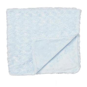 Rose Textile 1793 Curly Plush Blanket Blue
