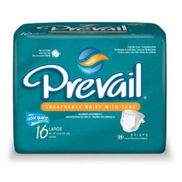 Firstqualityproducts Prevail PV-013/1 Adult Briefs-Large-64/Case
