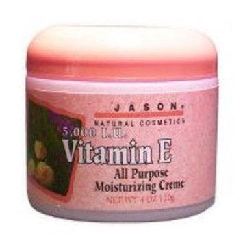 JASON Revitalizing Vitamin E 5,000 IU Moisturizing Crème, 4 oz. (Packaging May Vary)