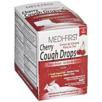 Medi-First 81550 Cherry Cough Drop, 50 Drops [1]