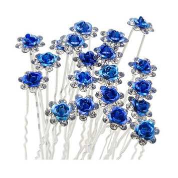 starfactory Rose U-sharped Design Collection Metal Hair Pins Pack of 20 with Exclusive Gift