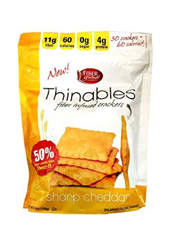 Fiber Gourmet - Thinables Crackers Cheese - 6 oz.