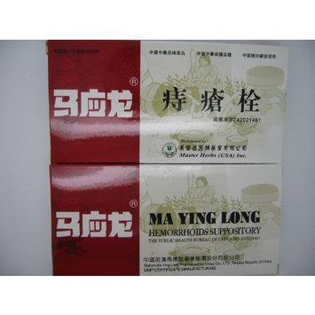 Ma Ying Long Musk Hemorrhoids Ointment SUPPOSITORY- 6 Suppositories/Box