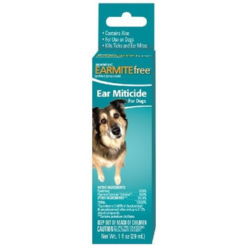 Sentry HC Ear Mite for Dogs, 1-Ounce