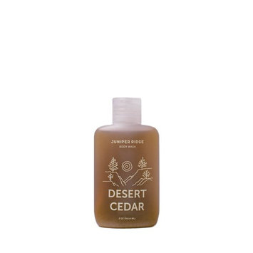 Juniper Ridge Body Wash Desert Cedar Travel Size 2 oz