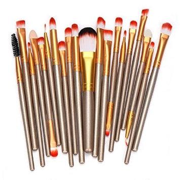 Makeup Brush Set,Neartime 20 pcs Beauty Brushes Tools Make-up Toiletry Kit Wool Make Up