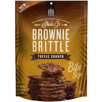 Toffee Crunch (2.75 Ounces Bag) by Brownie Brittle at the Vitamin Shoppe