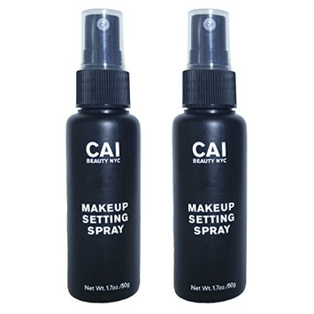 2-Pack Makeup Setting Spray, Long Lasting Make Up, Antioxidant and Antimicrobial Properties