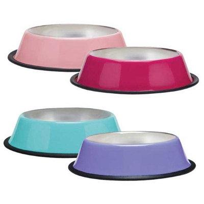Petedge ZA524 16 75 ProSelect Anti-Skid Bowl Pint Pink
