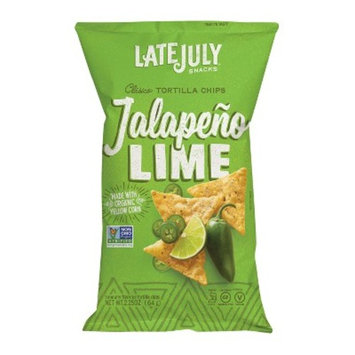 Snyder's of Hanover Late July Jalapeno Lime Clasico Tortilla Chips - 2.25oz