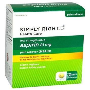 Member's Mark Aspirin 81Mg - 730 Count