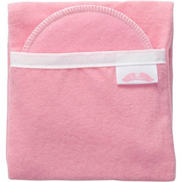 Nuangel Flip and Go Nursing Pad Case with Four Matching Pads - Pink