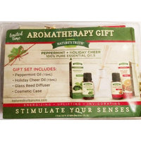 Nature's Truth Essential Oils Diffuser Peppermint and Holiday Cheer