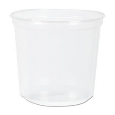 Fabri Kal Fabri-Kal RK Ribbed Cold Drink Cups, 5 oz, Clear