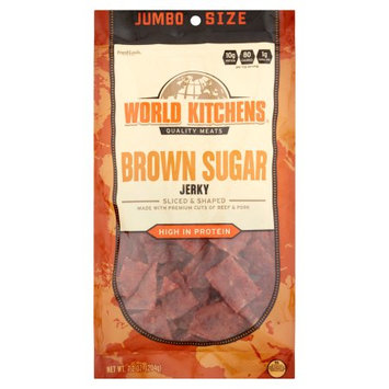 World Kitchens Brown Sugar Jerky, 7.2 oz