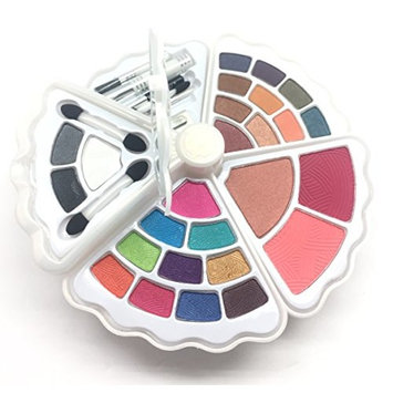 BR- All in one Makeup Set - Eyeshadows, Blush, Lip gloss Mascara and Wax