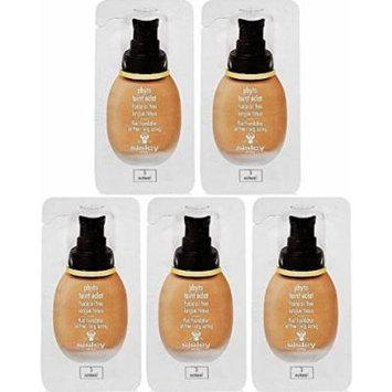 Sisley Phyto Teint Eclat Fluid Foundation Oil Free 2ml x 5pcs , #3