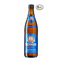 Erdinger Weissbier German Wheatbeer Non-alcoholic Beer 330ml (.33l) 6 Pack