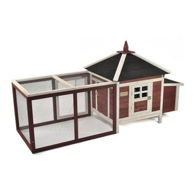 Boomer & George Prairie Home 82 in. Poultry Hutch