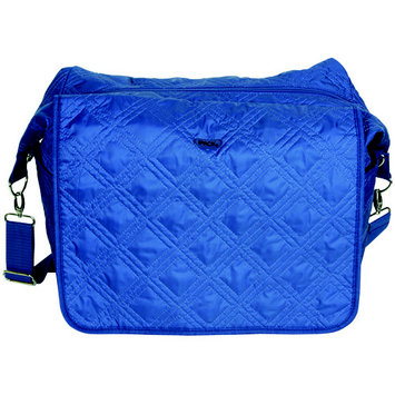 Ipack Baby Blue Quilted Diaper Bag