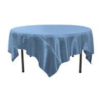 LA Linen TCOrgz90X90-Royal150 Sheer Mirror Organza Square Tablecloth Royal Blue - 90 x 90 in.