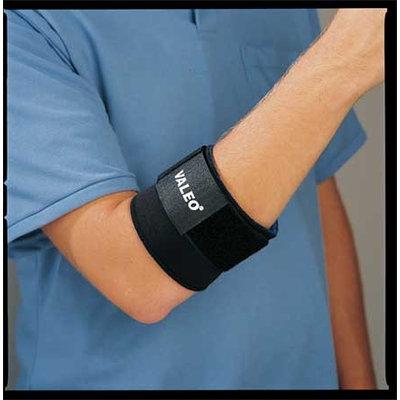 VALEO VA4543MEWWGL Elbow Support, M, Black, Single Strap