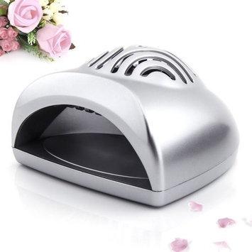 SODIAL(R) Silver Mini Portable Hand Finger Toe Nail Art Tip Gel Dryer Blower Fan