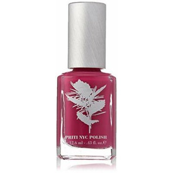 Priti NYC Non Toxic Nail Polish 264 Sweet Gesture Rose Dark Pink Purple